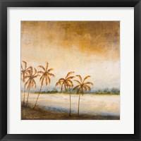 Coastal Romance I Framed Print