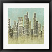 The City I Framed Print