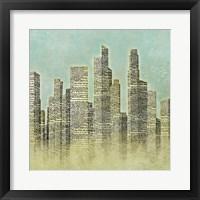 The City I Framed Print