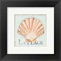 Framed La Plage