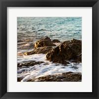 On the Rocks I Framed Print