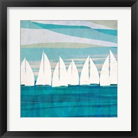 Framed Afternoon Regatta II