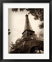 Last Day in Paris I Framed Print