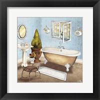 Master Bath I Framed Print