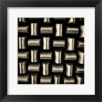 Industrial Square II Framed Print