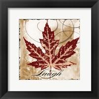 Framed Laugh Leaf