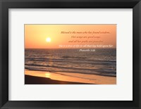 Sunrise I Framed Print
