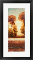 Vibrant Land I Framed Print