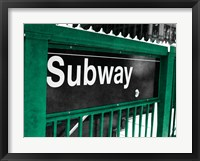 Framed Subway
