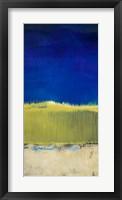 Blue Lagoon I Framed Print