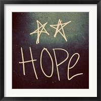 Triple Love and Hope II Framed Print