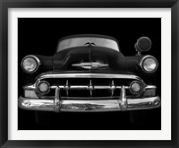 Framed Black and White Classic Ride