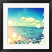 Framed Ocean Breeze I