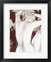 Modern Spice Woman I Framed Print