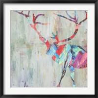 Framed Rhizome Deer
