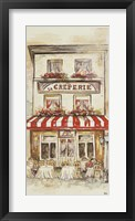 Cafe Du Paris Panel II Framed Print