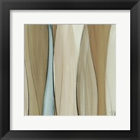 Neutral Coalescence Square II Framed Print