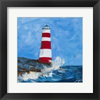 The Lighthouses II Framed Print
