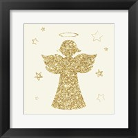 Golden Angels II Framed Print