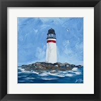 The Lighthouses I Framed Print