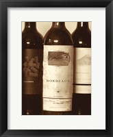 Wine Bottles I Framed Print