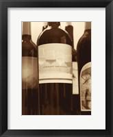 Wine Bottles II Framed Print