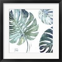 Organic with Blues I Framed Print