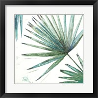 Organic with Blues II Framed Print