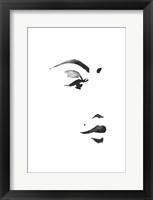 Framed Inked Portrait