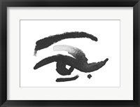 Framed Inked Eye