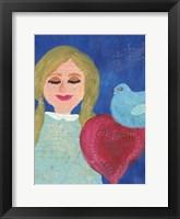 Framed Heart At Peace 1