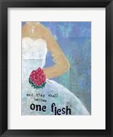 Framed Weddings One Flesh
