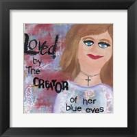 Framed Creator Love