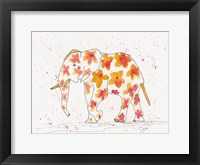 Framed Elephant Flower