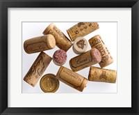 Framed Ten Corks