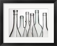 Framed Empty Bottles