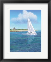 Framed Sailboat Peace