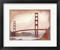 Framed SF Golden Gate Bridge