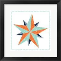 Framed Decagram Star