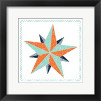 Framed Decagram Star