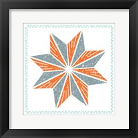 Framed Octagram Star