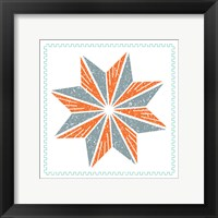 Framed Octagram Star