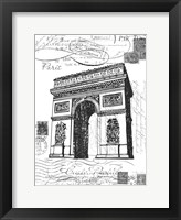 Framed Eco Vintage Paris 2