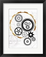 Framed Cog Blueprints