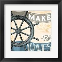 Framed Make Your Own Waves