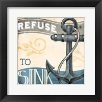 Framed Refuse To Sink