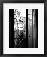 Framed Paris Hotel Window