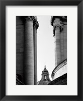 Framed Vatican Dome and Column