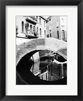 Framed Venice Bridge 2