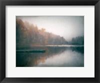 Framed Cloudy Lake